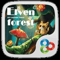 Elven Forest Dynamic Theme apk icon