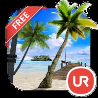 Ícone do UR 3D Beach Island Live Theme