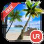 UR 3D Beach Island Live Theme  APK