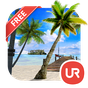 UR 3D Beach Island Live Theme 9.06.4.1