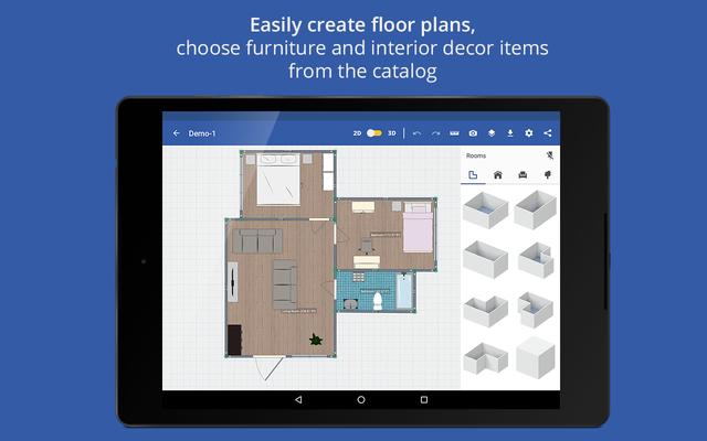 screenshots of swedish home design 3d - House Design 3d App