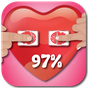 Amprente Dragoste Test Scaner Glumă