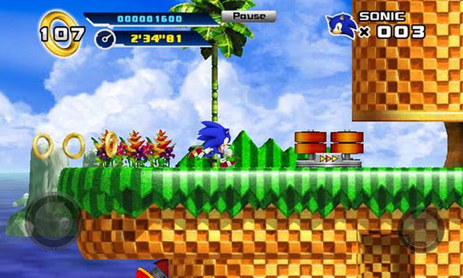 Sonic 4™ Episode I Android - Baixar Sonic 4™ Episode I Android - SEGA of  America