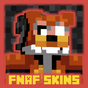 "Skins pack "" FNAF "" for MCPE mine maps! 1.0"