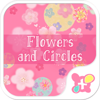 Ícone do Cute Theme-Flowers and Circles