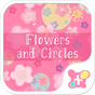 Cute Theme-Flowers and Circles 1.0.1