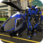Police Helicopter Robotic Battle 1.2