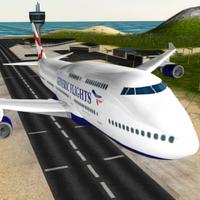 uçağı: uçuş simülatörü Simgesi