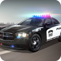 Jagd des Polizeiwagens Icon