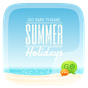 (FREE) GO SMS SUMMER THEME 1.60