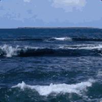 Ikon Blue Ocean Waves Live HD