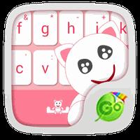 GO Keyboard Cute Kitty Theme apk icon