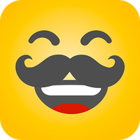 Icoană apk HAHAmoji - Animated Face Emoji GIF for free