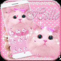 imagen cute kitty theme pink bow kitty 0thumb