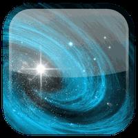 Ícone do Galáxia fundo dinâmicar