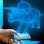 Dino Triceratops Hologram CAM 1.0 APK