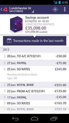 Download natwest business banking 1050 free apk android natwest business banking screenshot apk 3 reheart Images