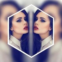 Ícone do Mirror Pic- Mirror Image Photo