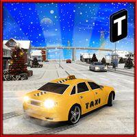 Ícone do apk Christmas Taxi Duty 3D