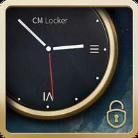 Luxury Clock CM Locker Theme의 apk 아이콘