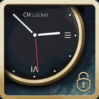 Ícone do apk CM Locker Tema Relógio de Luxo
