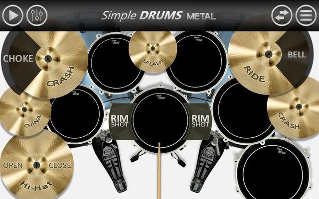 Image 3 of Simple Drums - Metal