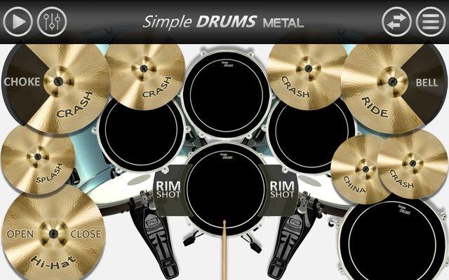 Image 1 of Simple Drums - Metal
