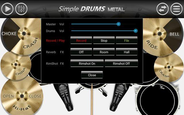 Image 2 of Simple Drums - Metal