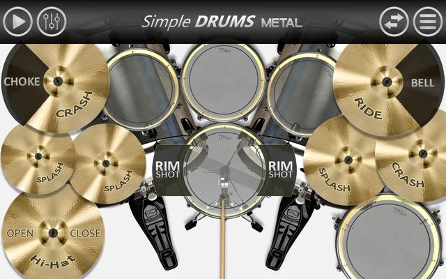 Image 16 of Simple Drums - Metal