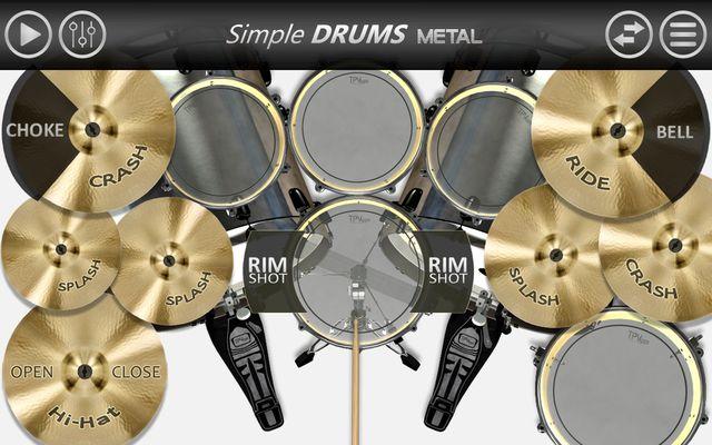 Image 10 of Simple Drums - Metal