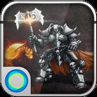 Demon Warrior Hola Theme apk icon
