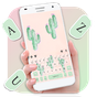 Cute Cartoon Cactus Keyboard Theme 1.0