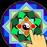 Ícone do Mandalas Colorir