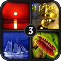 Biểu tượng apk 4 bức ảnh 1 từ - ảnh trò chơi