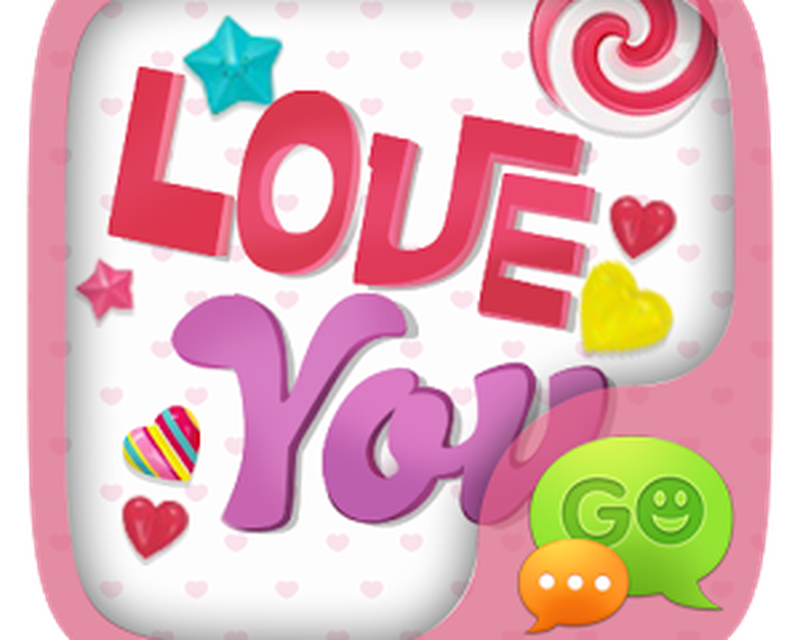(FREE) GO SMS LOVE YOU THEME Android - Free Download