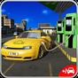Listrik Mobil Taksi Sopir 3D 1.0