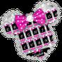 Novo tema de teclado Twinkle Minny Bowknot