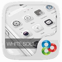 Εικονίδιο του White Soul GO Launcher Theme apk