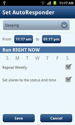 Sleep / Silent Mode / Auto SMS Android - Free Download Sleep