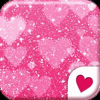 """Cute wallpaper☆Pink Glitter. """""""