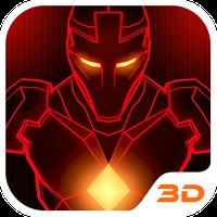 Red Iron Hero 3D Theme icon
