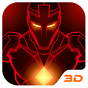 Red Iron Hero 3D Theme  APK