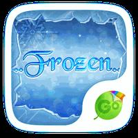 Frozen GO Keyboard Theme apk icon