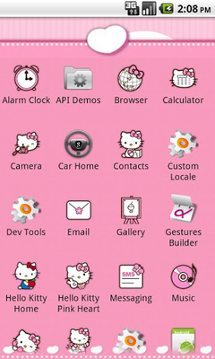go keyboard hello kitty themes free download for android