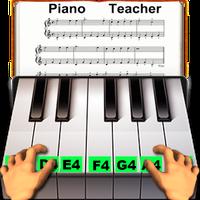 Ícone do Professor de piano real