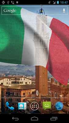 3D Italy Flag Live Wallpaper Android - Free Download 3D Italy Flag Live Wallpaper App - App4Joy
