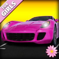 Kızlar için Araba ve Park 3D Simgesi
