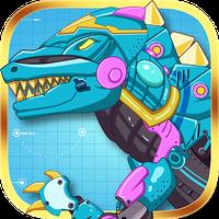 철강 공룡 장난감 : 난폭한 용 아이콘