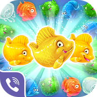Ikona apk Viber Mermaid Puzzle Match 3