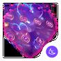Purple Love Flower- APUS Launcher Free Theme 2